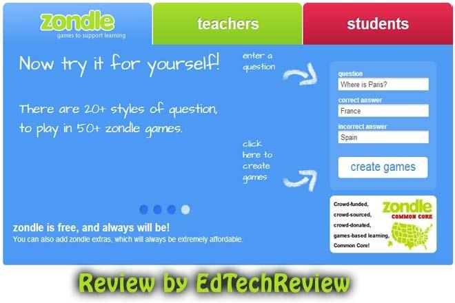 Zondle - Game Based Learning Platform for Kids